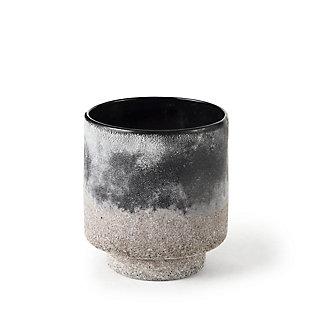Mercana Ceramic Ombre Textured Small Vase, , rollover