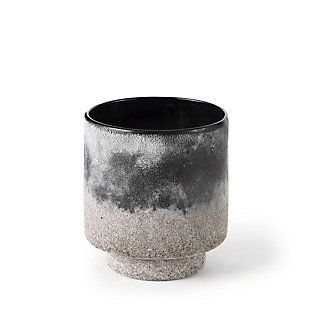 Mercana Ceramic Ombre Textured Small Vase, , large