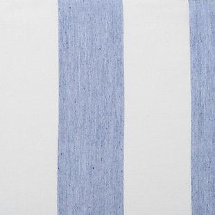 "Harbor 96"" Sheer Panel Curtain, Blue, large"