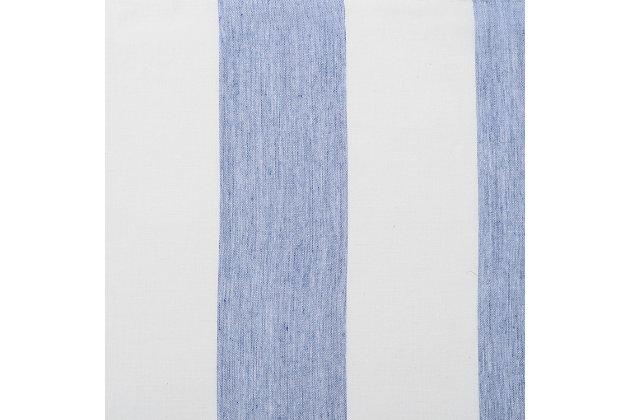 "Harbor 84"" Sheer Panel Curtain, Blue, large"