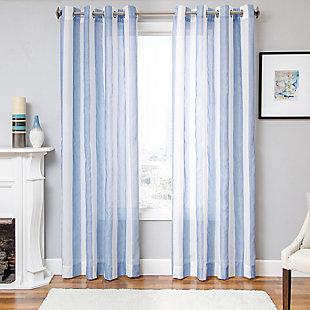 "Harbor 96"" Sheer Panel Curtain, , large"