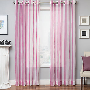 "Harbor 96"" Sheer Panel Curtain, , rollover"