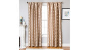 "Peyton 96"" Jacquard Tile Panel Curtain, , large"