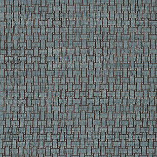"Pomo 84"" Jacquard Panel Curtain, Blue, large"