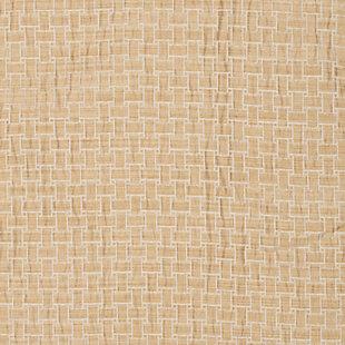 "Pomo 84"" Jacquard Panel Curtain, Gold, large"