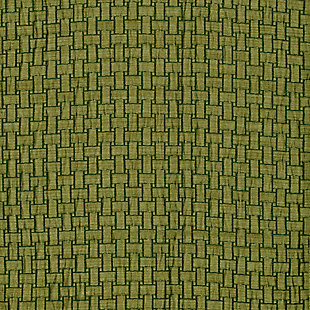 "Pomo 84"" Jacquard Panel Curtain, Olive, large"