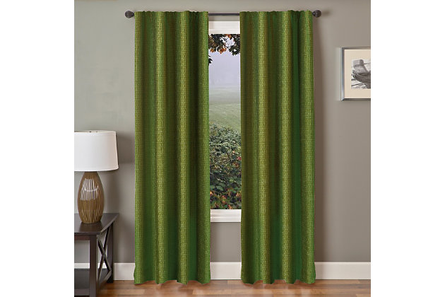 "Pomo 96"" Jacquard Panel Curtain, , large"