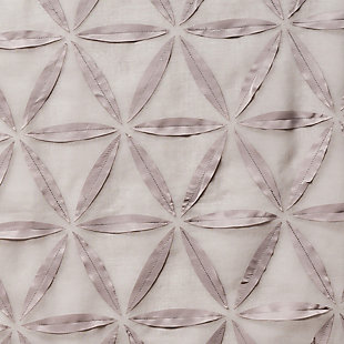 "Celestia 84"" Sheer Panel Curtain, Gray, large"