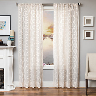 "Celestia 96"" Sheer Panel Curtain, , large"