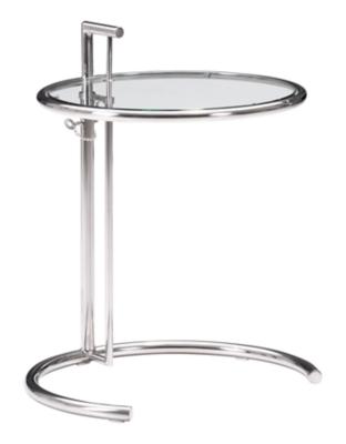 Eileen Grey Chrome End Table, , large