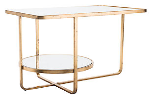 Gace Gold Accent Table, , large