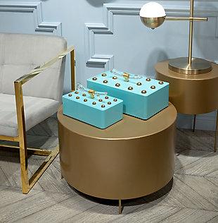 Bor Gold End Table, , rollover
