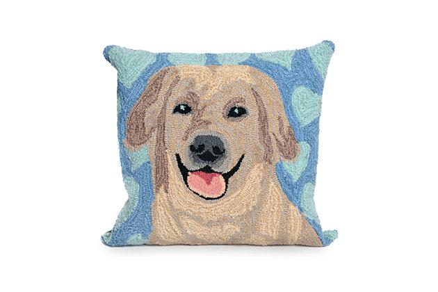 Deckside Soulmates Indoor/Outdoor Pillow, , large