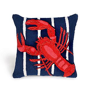 Deckside Decapoda Indoor/Outdoor Pillow, , large