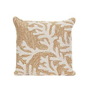 Deckside Ocean Branch Indoor/Outdoor Pillow, , large