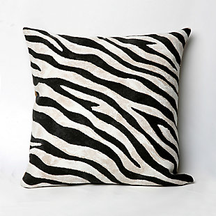 Spectrum I African Stripes Indoor/Outdoor Pillow, , large