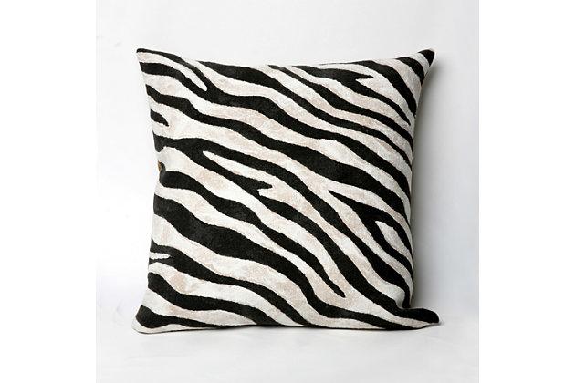 Spectrum I African Stripes Indoor/Outdoor Pillow, , large