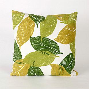 Spectrum I Floating Petals Indoor/Outdoor Pillow, , large