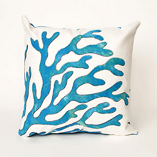 Spectrum I Sea Anemone Indoor/Outdoor Pillow, , large