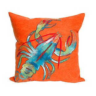 Spectrum II Crayfish Indoor/Outdoor Pillow, , rollover