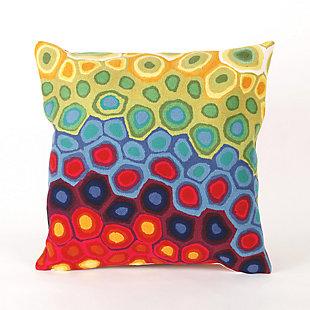 Spectrum III Mod Dot Indoor/Outdoor Pillow, , large