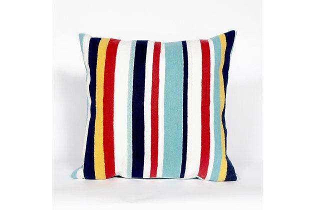 Spectrum III Regatta Indoor/Outdoor Pillow, , large