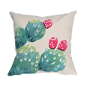 Spectrum III Desert Bloom Indoor/Outdoor Pillow, , large