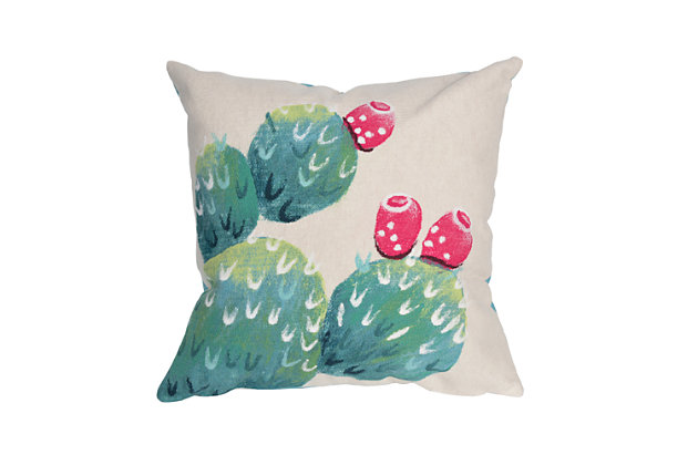 Spectrum III Desert Bloom Indoor/Outdoor Pillow, , large