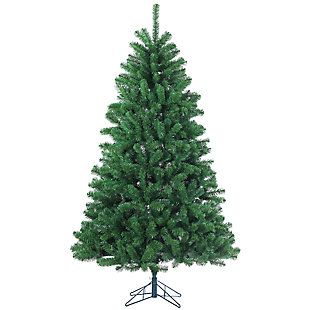 7ft Christmas Tree + 4 Piece Greenery Set, , large