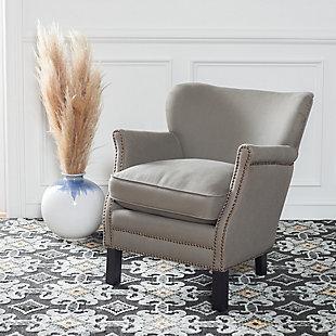 Safavieh Jenny Arm Chair, Royal Blue, rollover