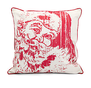 Holiday Homestead Christmas Vintage Santa Pillow, , large