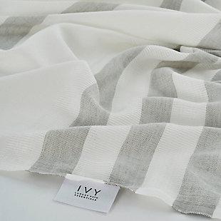 Salem Kavak  Fringe Turkish Cotton Towel Gray, , rollover