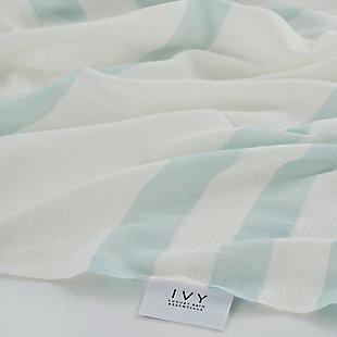 Salem Kavak  Fringe Turkish Cotton Beach Towel Mint, , rollover