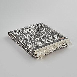 Hitit  Hand Loom Turkish  Beach Towel/Blanket 39x70, , large