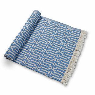 Bosphorus  Hand Loom Turkish Beach Towel, , large
