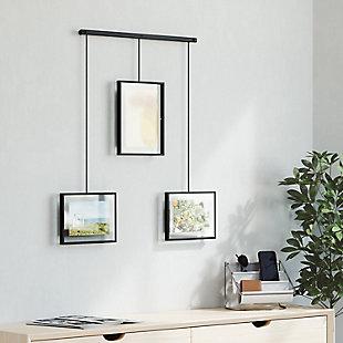 Umbra Exhibit Black Photo Display, Black, rollover