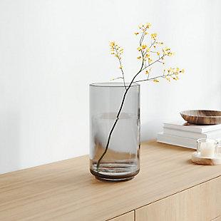 Umbra Layla Medium Smoke Gray Vase, , rollover