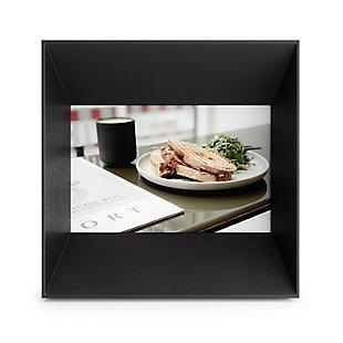 Umbra Lookout 4 x 6 Black Picture Frame, Black, large