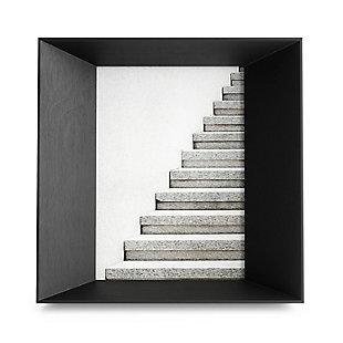 Umbra Lookout 5 x 7 Black Picture Frame, Black, large