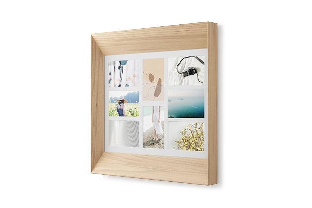 Umbra Lookout Natural Wood Photoframe, Natural, large