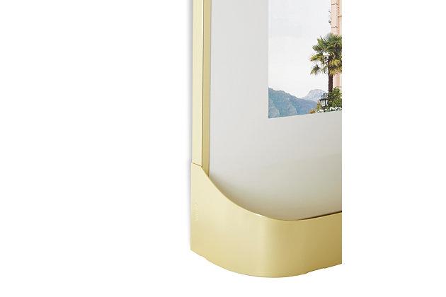 Umbra Matinee Brass Photo Gallery Display (Set of 5), Brass, large