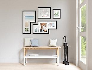 Umbra Mingle Black Photo Gallery Display (Set of 4), Black, rollover