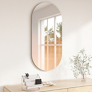 Umbra Misto 18 x 36 Copper Mirror, , rollover