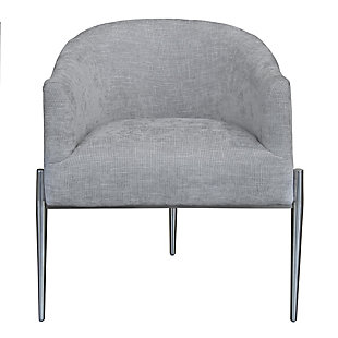 Benzara Accent Chair with Tripod Legs, , large