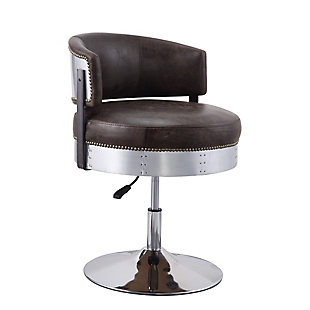 Benzara Accent Chair with Adjustable Height, , rollover