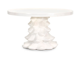 Holiday Homestead Christmas Tree Cake Stand, , large
