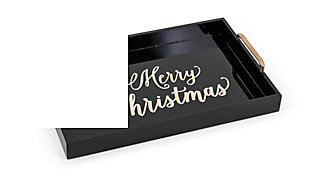 Holiday Merry Christmas Trays (Set of 3), , large