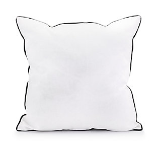 Holiday Snow Crystal Pillow, , large