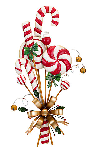 Holiday Christmas Candy Can Door Hanger, , large
