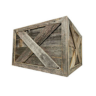 Weathered Gray Tree and Plant Box Collar, , large